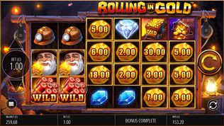 Rolling in Gold Slot