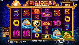 5 Lions Megaways Slot