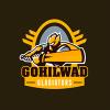 Gohilwad Gladiators Cricket Logo