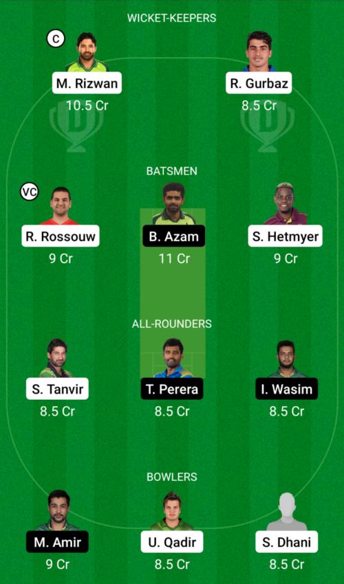 Multan Sultans vs Karachi Kings Dream11 Team Prediction