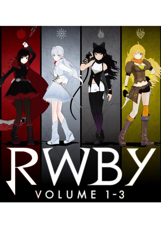 RWBY VOLUME 1-3: The Beginning