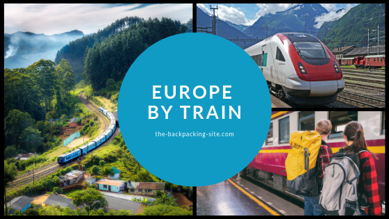 travel Europe by Train with a one time rail  pass