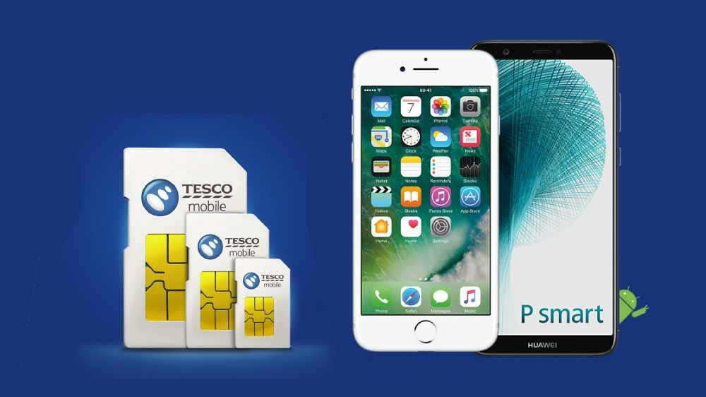 Tesco Mobile ANNOUNCES DOUBLE-data deals on apple and huawei smartphones