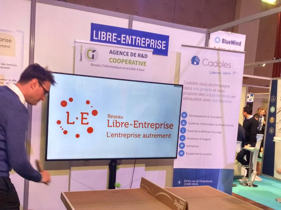 les équipes du Réseau Libre Entreprise en action