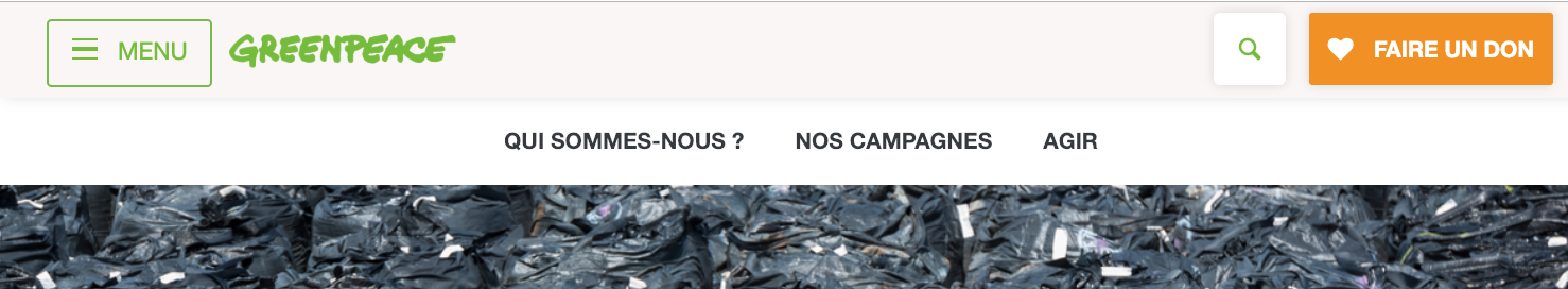 agence web paris call to action greenpeace