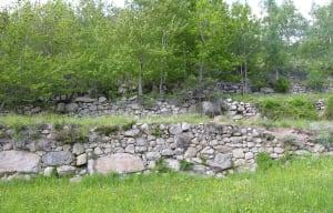 12.Terrazzamenti in granito da massi erratici. Cérellaz, Avise.