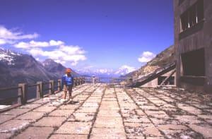 Stabilimento della miniera di Colonna (2390 m)