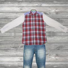 Red Checks Obsession Shirt