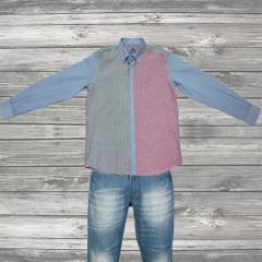 Classic Color Block Shirt