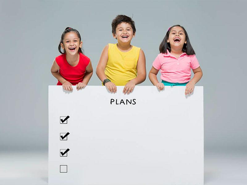Make a proper well defined plan