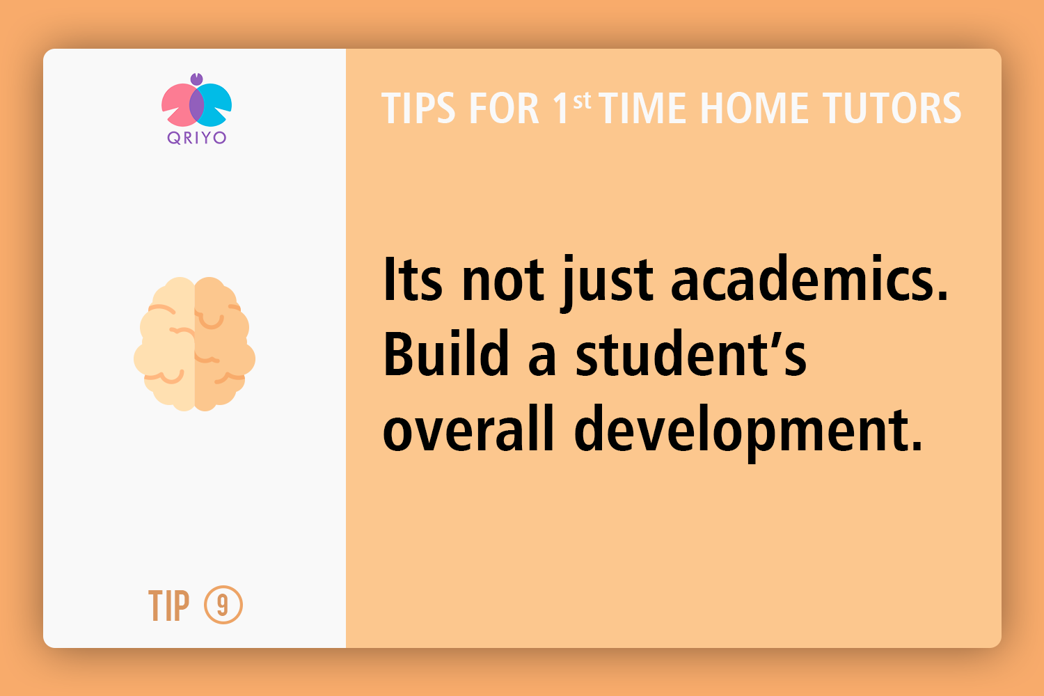 Help in overall development of the student.