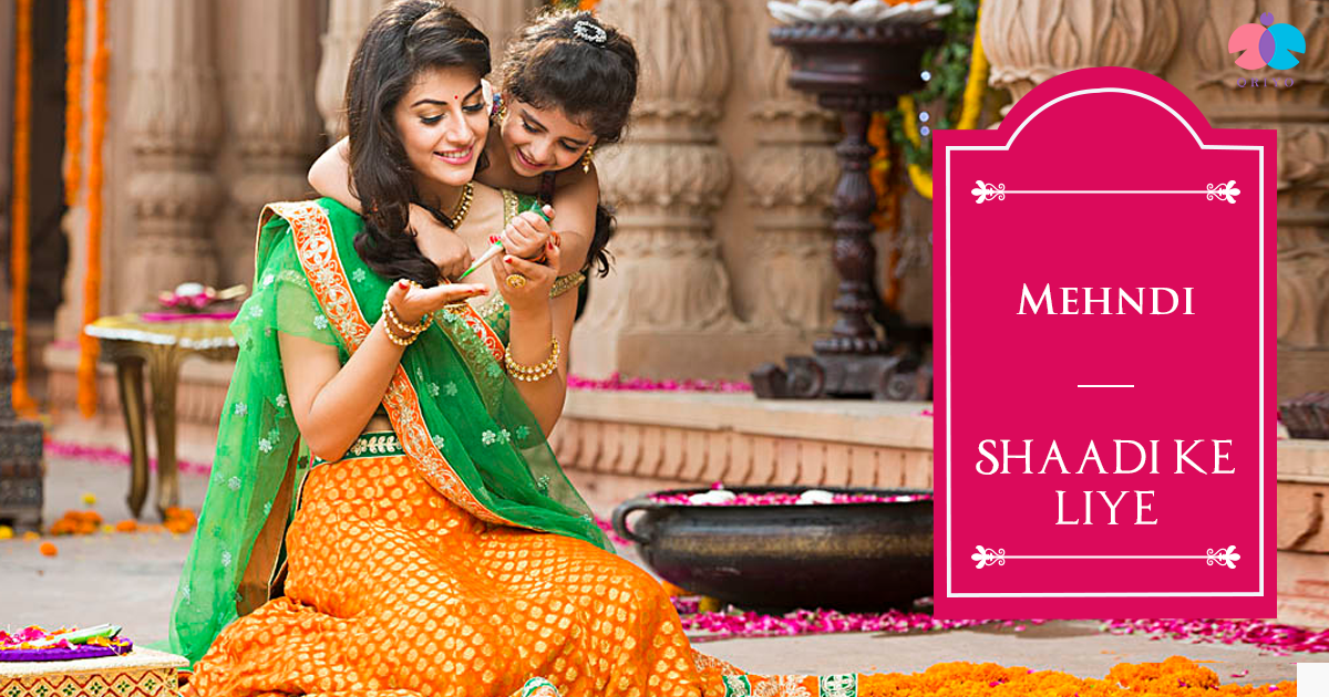 your wedding, your mehendi designs.