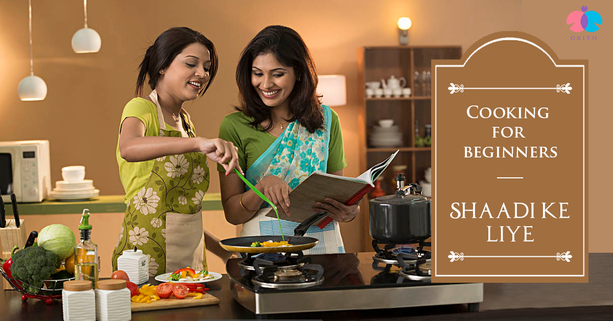 Marrying someone special? Learn to cook and cook for that someone special.