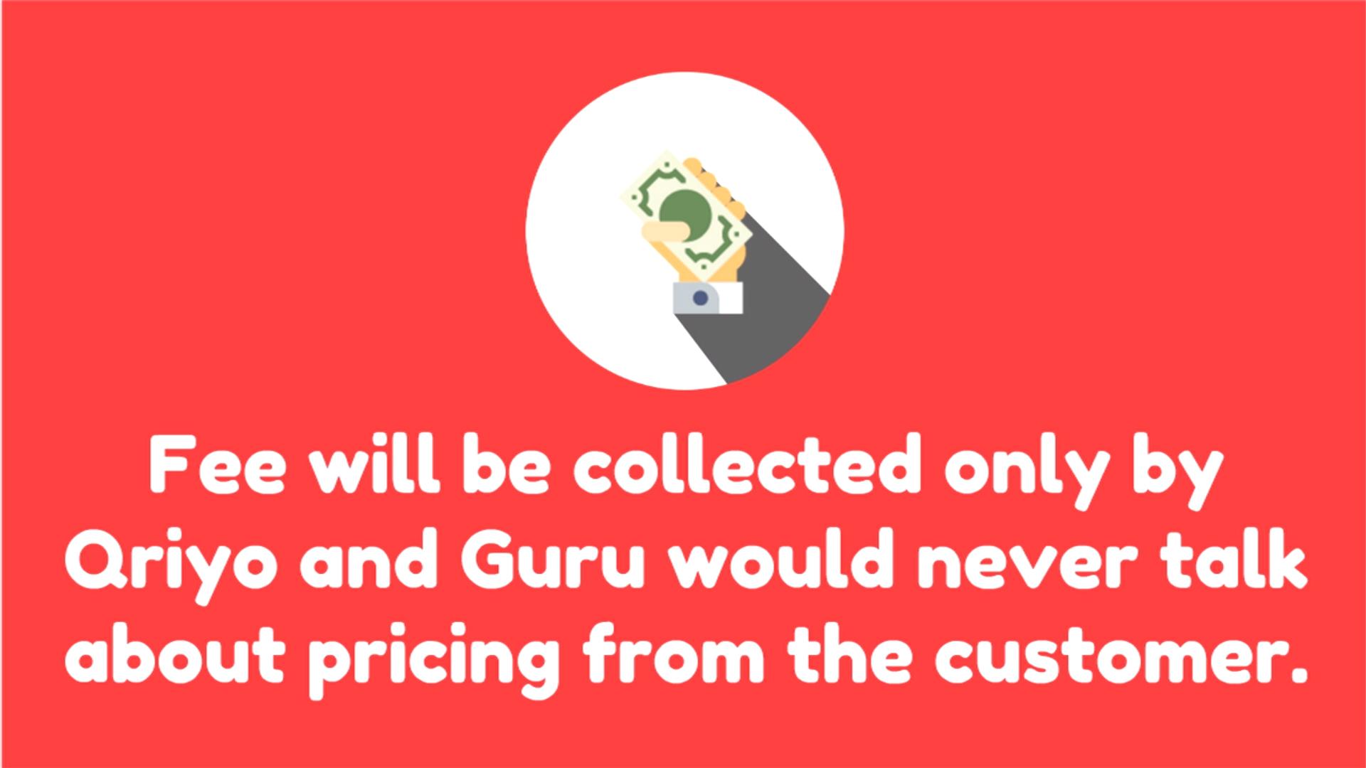 Guidelines for qriyo gurus