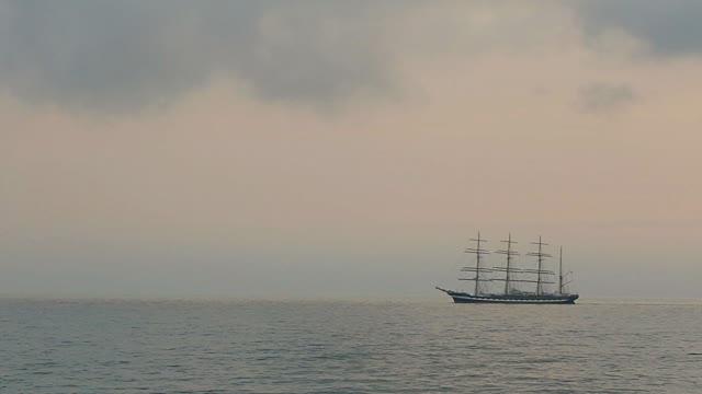 A ship, a ship. Let's save ourselves.