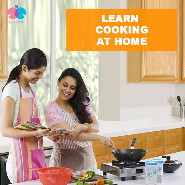 Learn cooking at home.