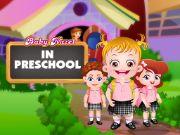 Baby hazel in preschool