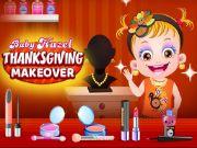 Baby hazel thanksgiving makeover