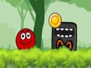 Ball Hero Adventure: Red Bounce Ball