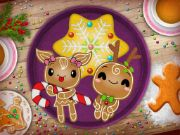 Christmas Gingerbread - Color Me