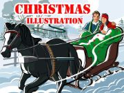 Christmas Illustration Puzzle