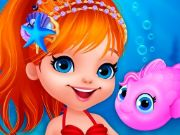 Cute Mermaid Dress Up