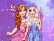 Elsa and Anna Sent to Fairyland