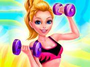 Fitness Girl Dress Up