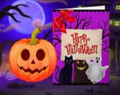 Happy Halloween - Princess Card Designer
