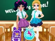 Jasmine and Elsa   School Bag Design Contest