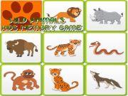 Kids Memory - Wild Animals