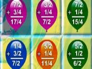 Math Balloons Fractions