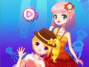 Mermaid Princess Dress Up Salon