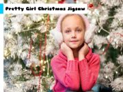 Pretty Girl Christmas Jigsaw