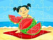 Summer Foods Jigsaw