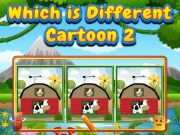 Which Is Different Cartoon 2