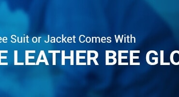 Free Leather Bee Gloves with this Bee Suit