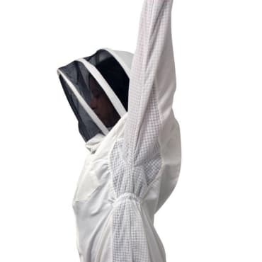 vented bee suit hooded