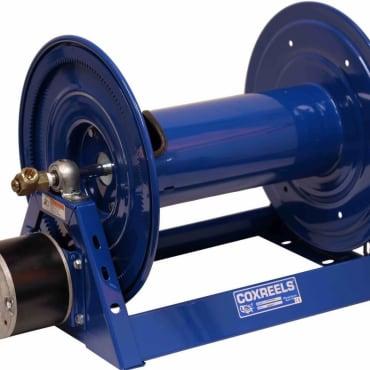 Cox 1125-4-325E Electric Rewind Hose Reel (12-Volt)
