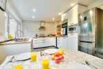 Luxury holiday house St Davids Wales - kitchen