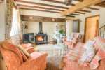Lleyn Peninsular holiday home - lounge