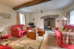 Dog friendly cottage Wales - lounge