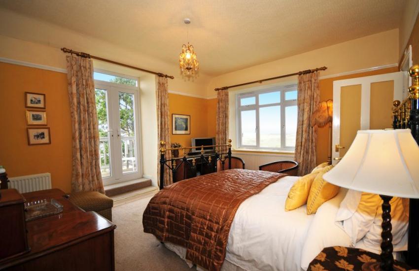 One of double balcony Bedrooms