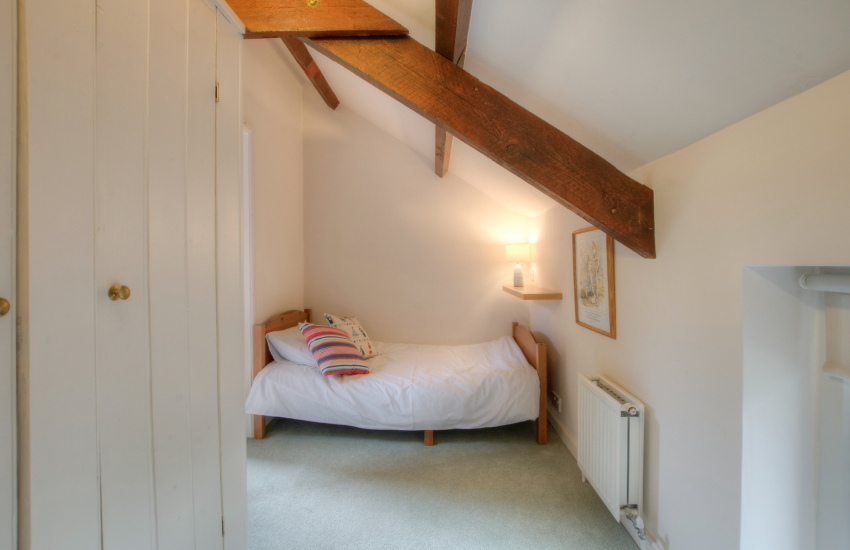 Pet friendly cottage Ceredigion - bedroom