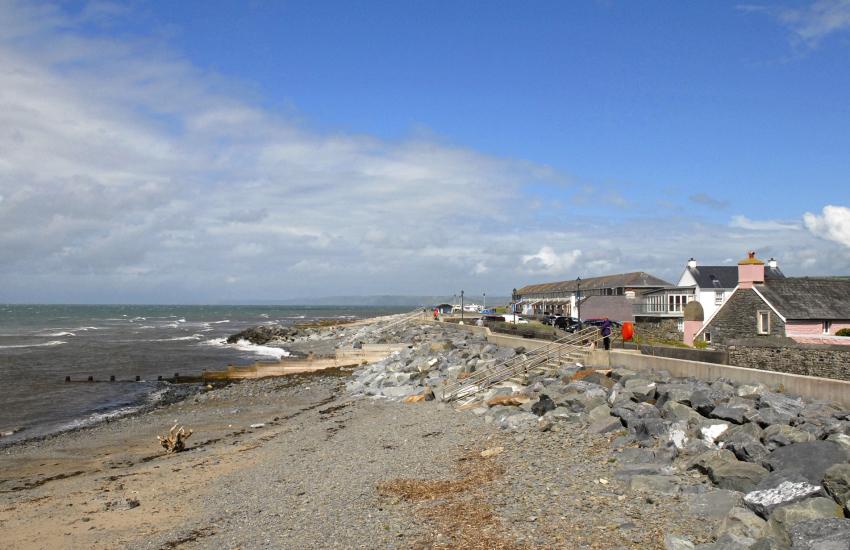 Aberaeron's North Beach