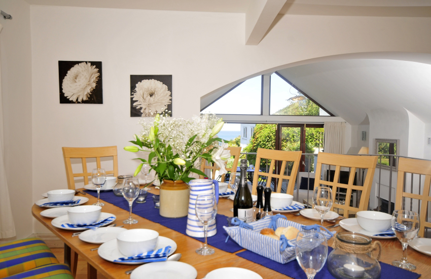 Holiday cottage North Wales - dining