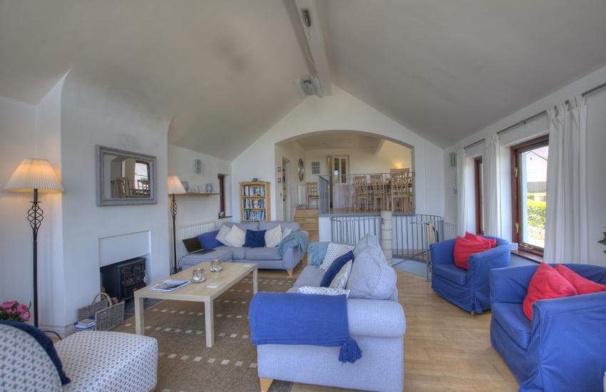 Cottage by the sea north Wales - lounge