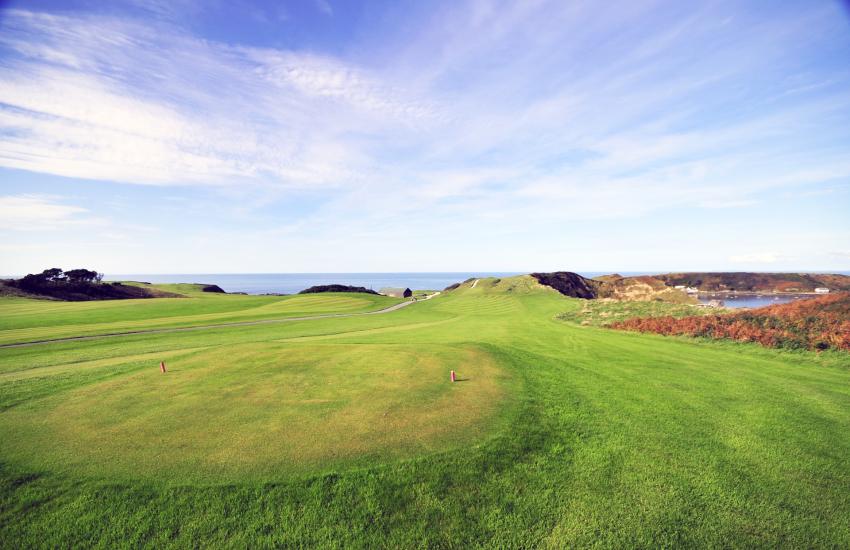 Porth Dinllaen golf course
