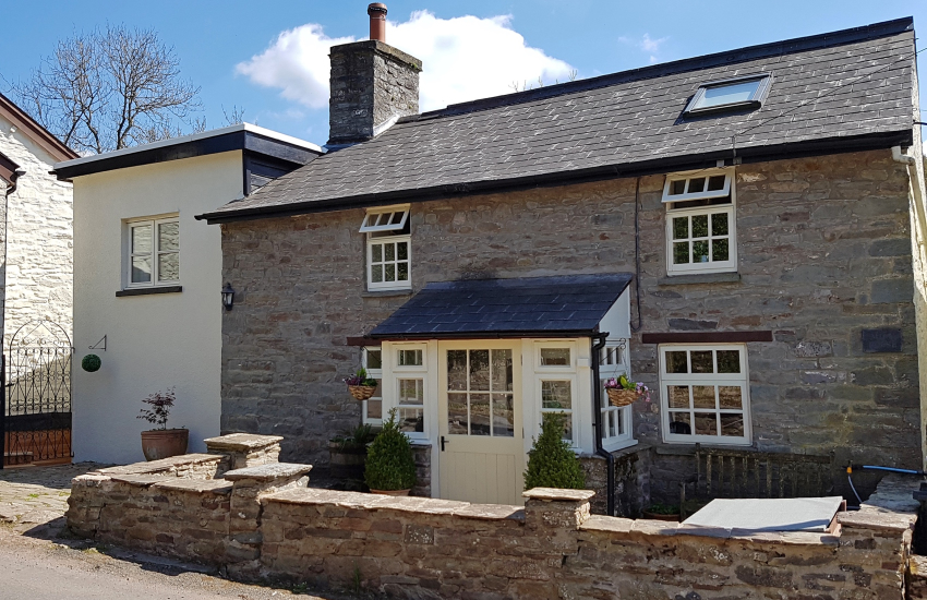 Holiday cottage Brecon Beacons - exterior