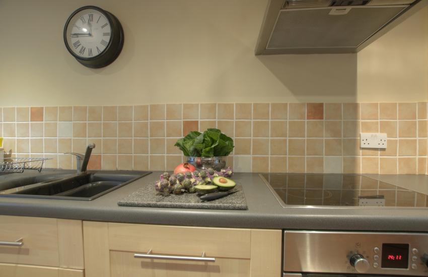 Romantic retreat Wales - kitchen